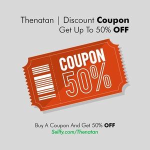 Thenatan - 50 % Discount Coupon