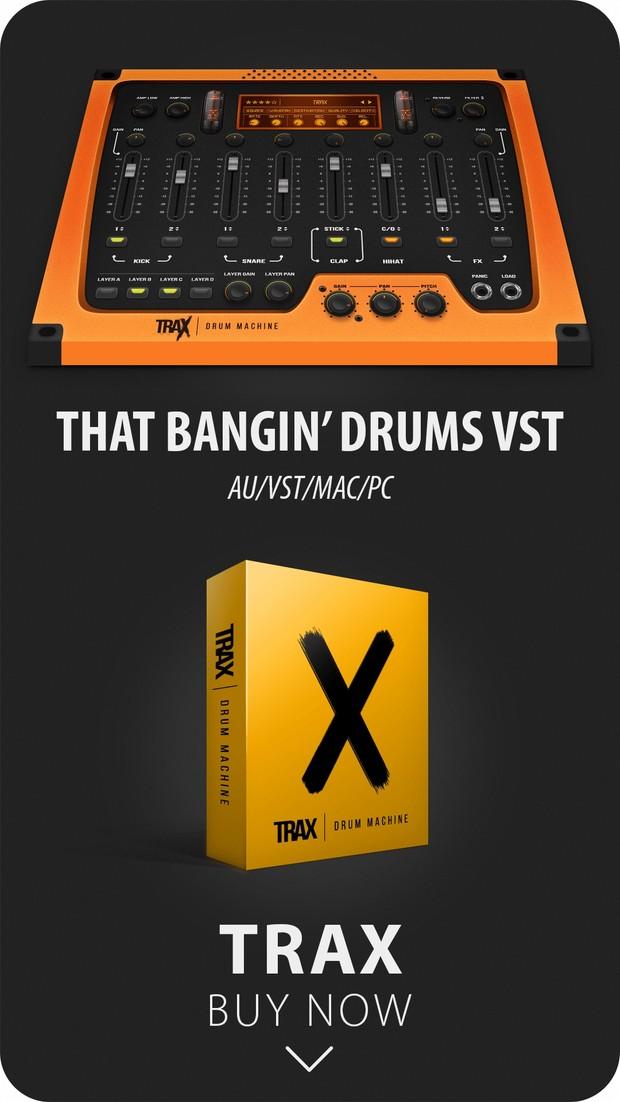 TRAX VST - BEST SELLING DRUMS ★