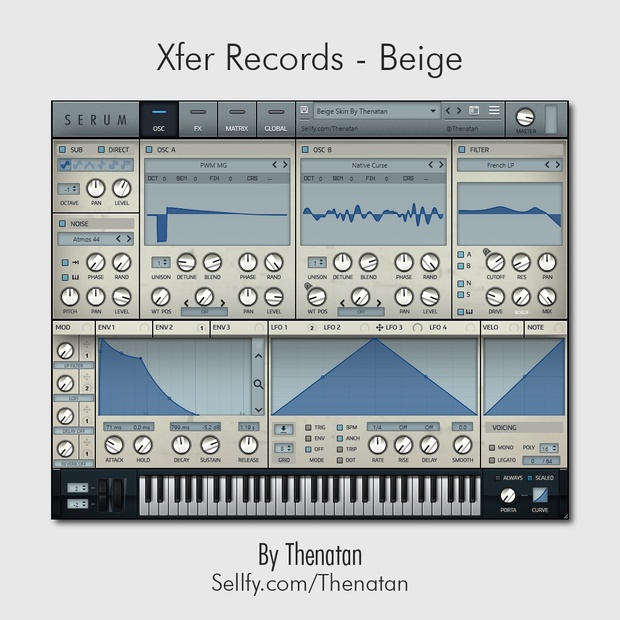 Xfer Records - Beige