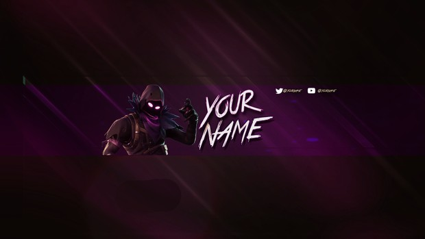FORTNITE BANNER TEMPLATE - HydgeArtz