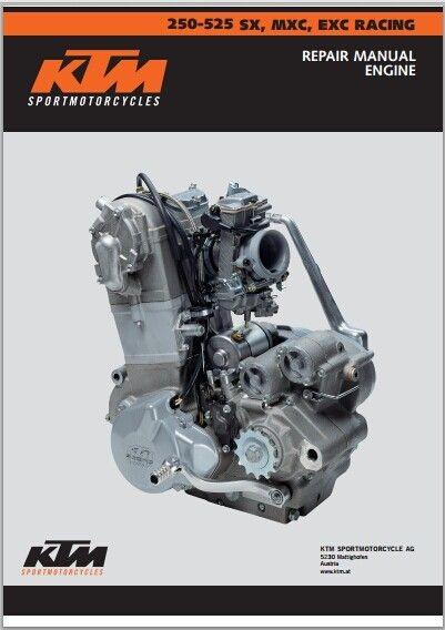 2003 KTM 250-525 SX MXC EXC Repair Manual pdf download