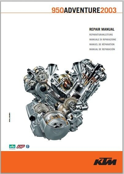2003 KTM 950 Adventure service repair manual pdf download