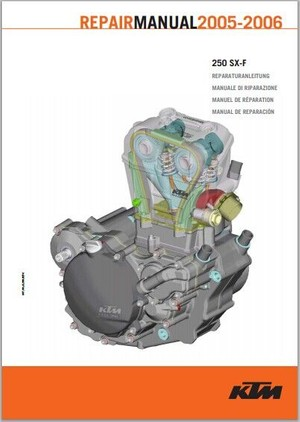 2005-2006 KTM 250 SX-F Service Repair Manual pdf download