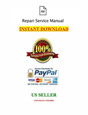2001 Toyota Lexus ES300 Factory WORKSHOP SERVICE REPAIR MANUAL-PDF DOWNLOAD