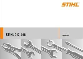 Stihl 017 018 Chain Saws & Parts Workshop Service Repair Manual Download