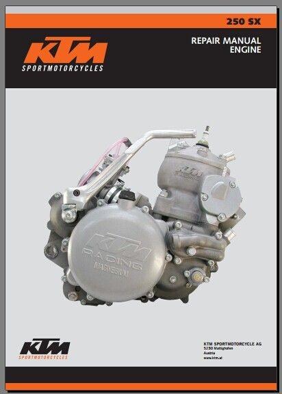 2003 KTM 250 SX Service Repair Manual pdf download