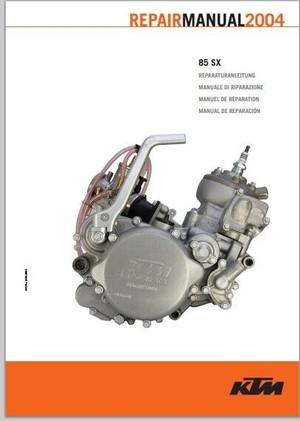 2004 KTM 85 SX Service Repair Manual pdf download
