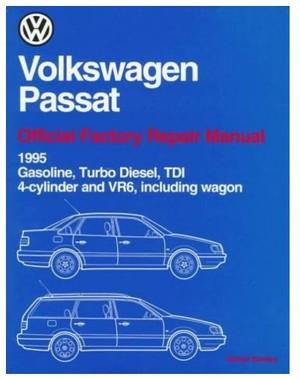 Volkswagen Passat-Official Factory Repair Manual Wiring Diagrams 1995