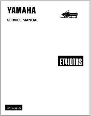 1991-1992 Yamaha ET410TR ET410TRS Snowmoblile Workshop Service Repair Manual Download