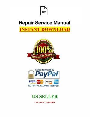JCB 3CX, 4CX (with JCB 444 Engine) Service Repair Manual PDF