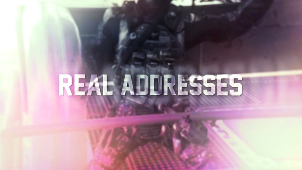 Real Addresses Project Files