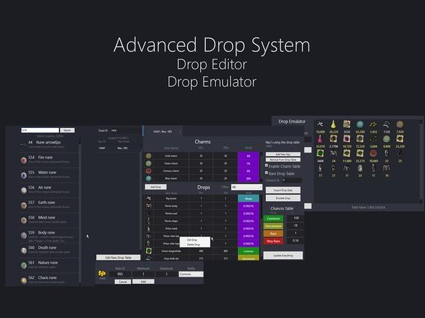 [Vencillio] Advanced Drop System | Drop Editor | Drop Emulator