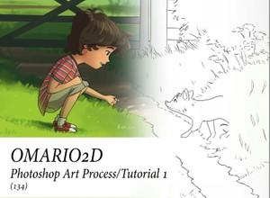 Omario2D Photoshop Art Process/Tutorial 1
