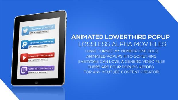 Animated Social Media Popup Alpha files
