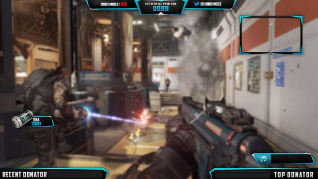 Twitch Overlay Template V6 (PSD)
