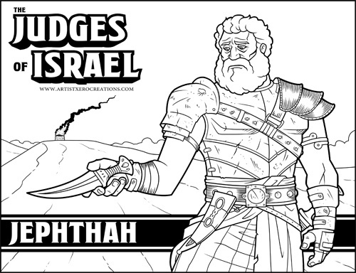 The Judges of Israel: Jephthah
