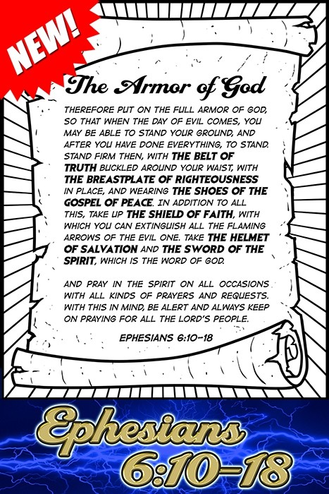 The Armor of God: Ephesians 6:10-18