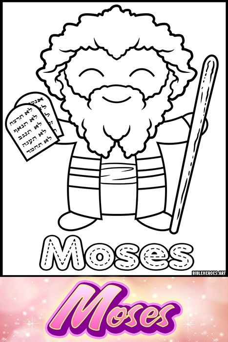 Li'l Heroes of the Bible: Moses