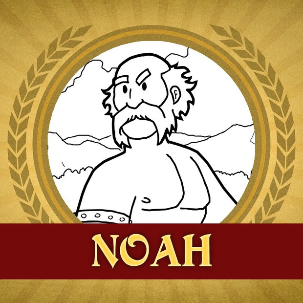 The Heroes of the Bible Coloring Pages: Noah