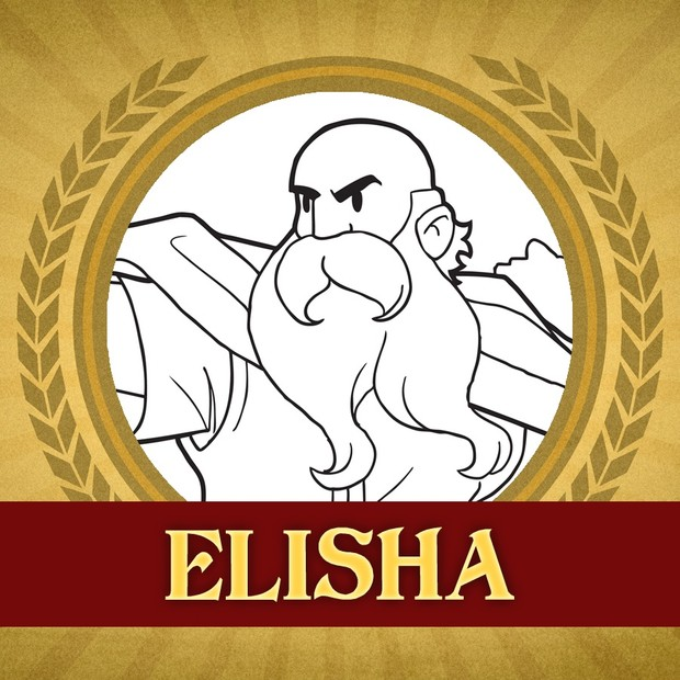 The Heroes of the Bible Coloring Pages: Elisha