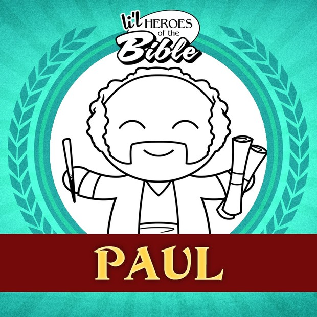 L'il Heroes of the Bible: Paul