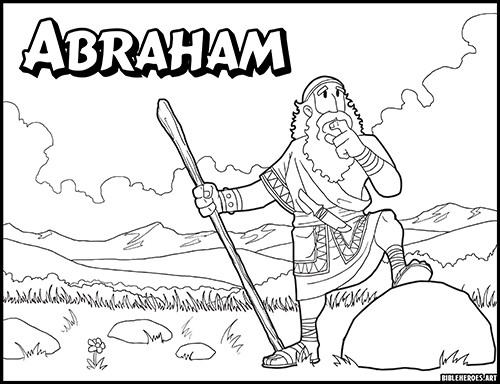 Abraham and Sarah Coloring Pages - Best Coloring Pages For Kids | 384x500