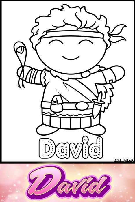 Li'l Heroes of the Bible: David