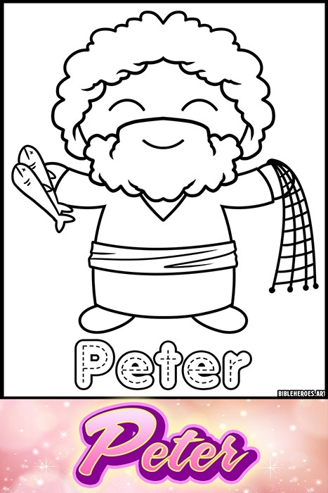 Li'l Heroes of the Bible: Peter