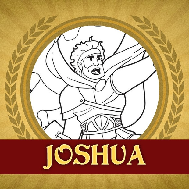 The Heroes of the Bible Coloring Pages: Joshua