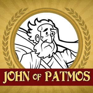 The Heroes of the Bible Coloring Pages: John of Patmos