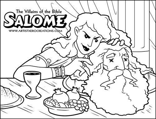 The Villains of the Bible: Salome