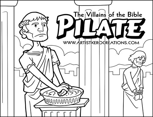 The Villains of the Bible: Pilate