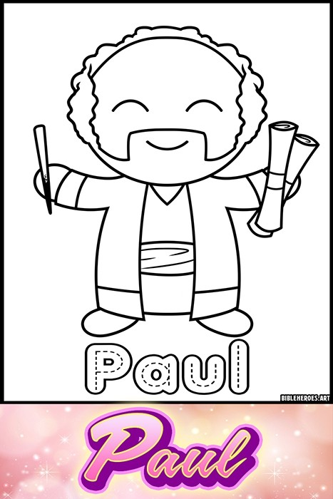 Li'l Heroes of the Bible: Paul