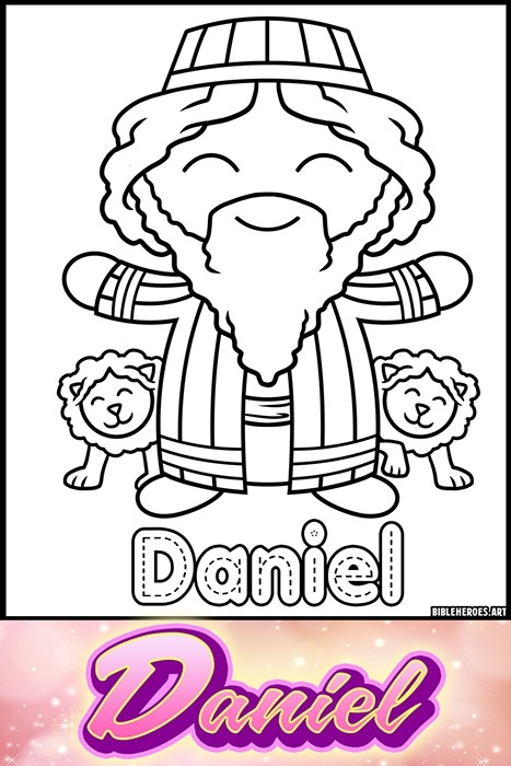 Li'l Heroes of the Bible: Daniel