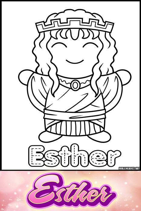 Li'l Heroes of the Bible: Esther