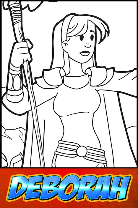 Deborah Coloring Page | Ministry-To-Children | 700x467