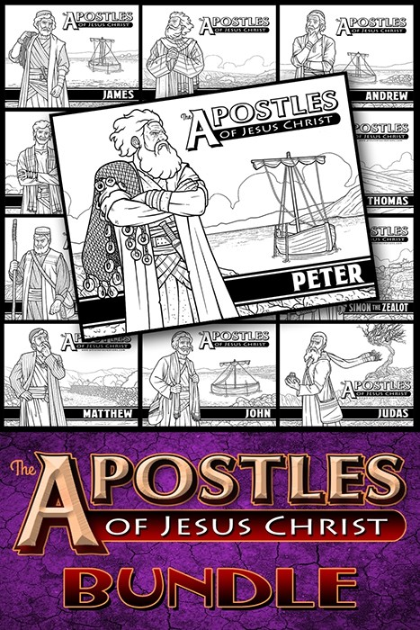 The Apostles of Jesus Christ  Bundle Pack