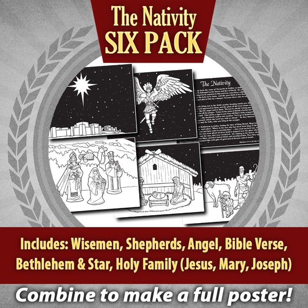The Nativity Six Pack