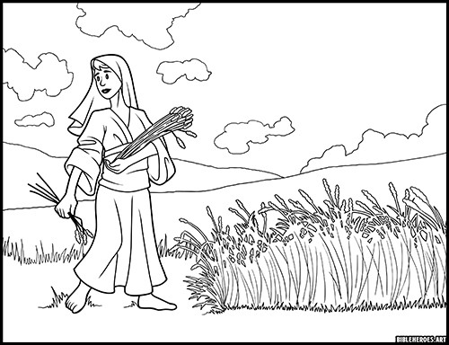 The Heroes of the Bible Coloring Pages: Samuel | Sunday school ... | 384x500