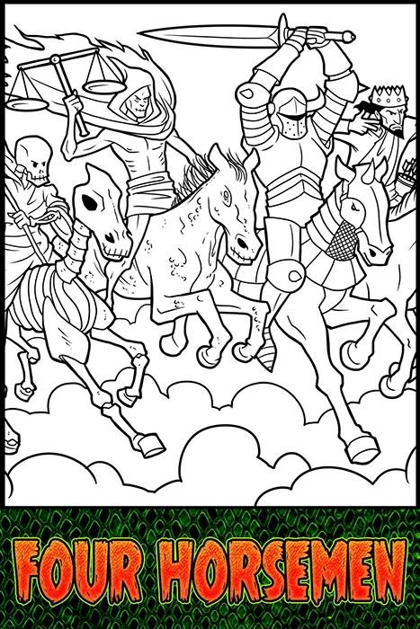 The Villains of the Bible: Four Horsemen