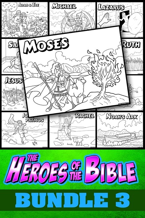 The Heroes of the Bible Bundle Pack 3