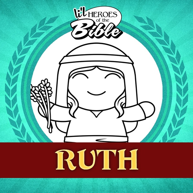L'il Heroes of the Bible: Ruth