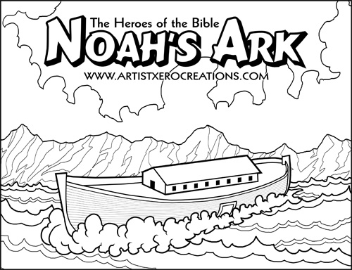 Noah Coloring Pages - Coloring Pages 2019