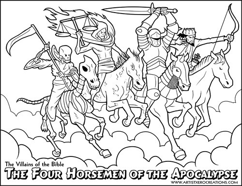 The Villains of the Bible: Four Horsemen