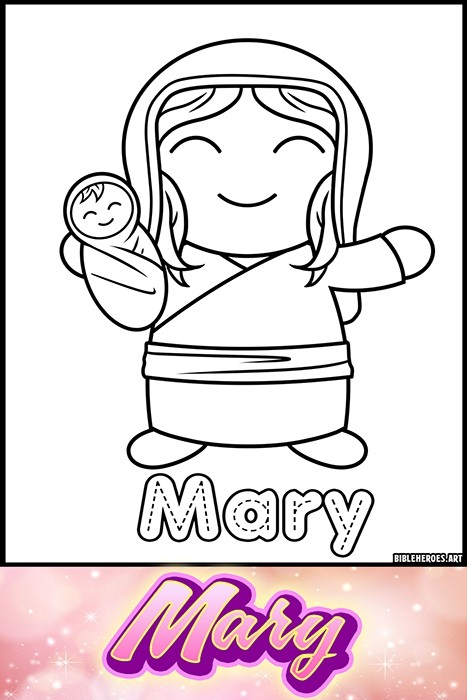 Li'l Heroes of the Bible: Mary