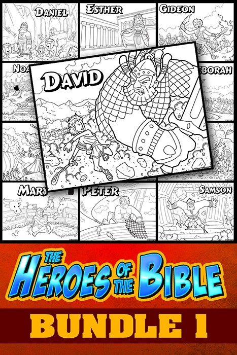 The Heroes of the Bible Bundle Pack 1
