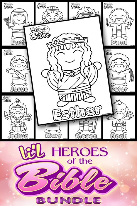 L'il Heroes of the Bible Bundle Pack