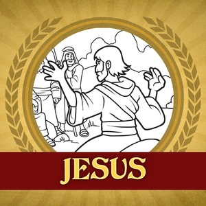 The Heroes of the Bible Coloring Pages: Jesus Sermon on the Mount