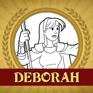 The Heroes of the Bible Coloring Pages: Deborah