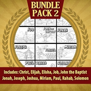 The Heroes of the Bible Bundle Pack 2